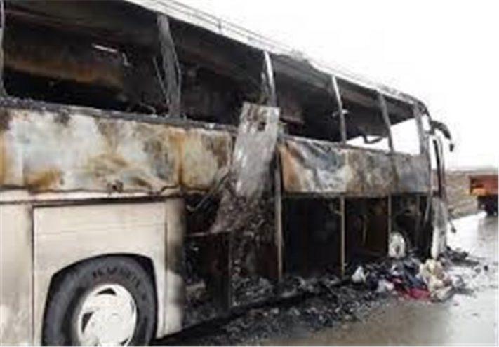 آتشسوزی اتوبوس