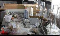 لابراتور تولید ماده مخدر صنعتی