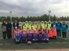 بانوی فوتبالیست استان مرکزی